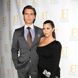 Scott Disick, Kourtney Kardashian in Kourtney Kardashian Hosts The Dash Fashion Show