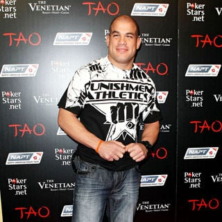 Tito Ortiz in Celebrities at PokerStars.net North American Poker Tour At The Venetian