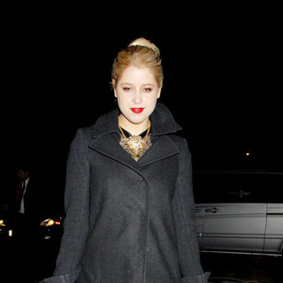 Peaches Geldof in London Fashion Week Autumn/Winter 2010 - Pringle of Scotland - Departures