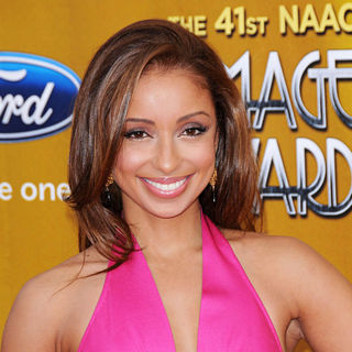 Mya in 41st NAACP Image Awards - Arrivals