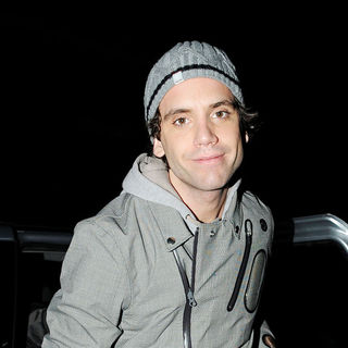 Mika in Mika leaves the Hammersmith Apollo meeting fans after performing as part of his european tour