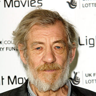Ian McKellen in First Light Movie Awards