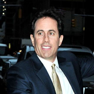 Jerry Seinfeld outside the Ed Sullivan Theatre for the 'Late Show With David Letterman' - wenn2761464