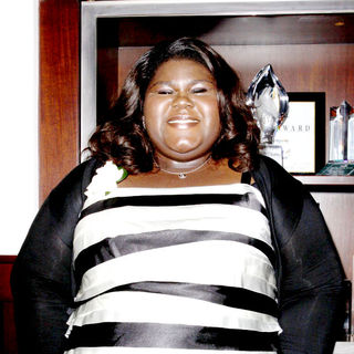 Gabourey Sidibe in 3rd Annual Women In Film Pre-Oscar Party - Inside