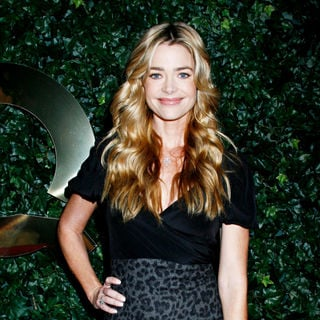 Denise Richards in QVC Red Carpet Style Pre-Oscar Party