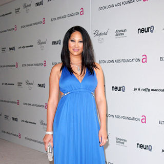 Kimora Lee Simmons in 18th Annual Elton John AIDS Foundation Academy Awards (Oscars) Viewing Party - Arrivals
