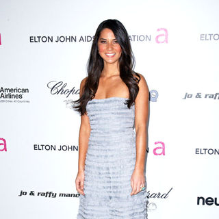 Olivia Munn in 18th Annual Elton John AIDS Foundation Academy Awards (Oscars) Viewing Party - Arrivals