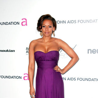 Melanie Brown in 18th Annual Elton John AIDS Foundation Academy Awards (Oscars) Viewing Party - Arrivals
