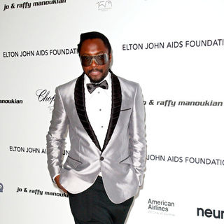 will.i.am in 18th Annual Elton John AIDS Foundation Academy Awards (Oscars) Viewing Party - Arrivals