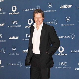 Hugh Grant - The Laureus Sports Awards 2010