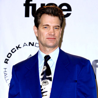 Chris Isaak in 25th Annual Rock And Roll Hall Of Fame Induction Ceremony - Press Room