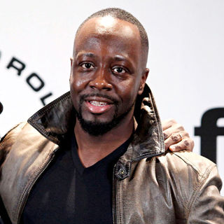 Wyclef Jean in 25th Annual Rock And Roll Hall Of Fame Induction Ceremony - Press Room