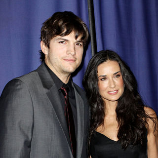 "Ashton Kutcher, Demi Moore in 18th Annual ""A Night at Sardi's"" Benefiting The Alzheimer's Association"
