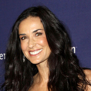 "Demi Moore in 18th Annual ""A Night at Sardi's"" Benefiting The Alzheimer's Association"