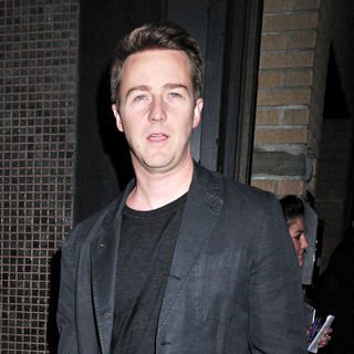 Edward Norton in Screening of The New Movie 'Leaves of Grass' - Outside Arrivals