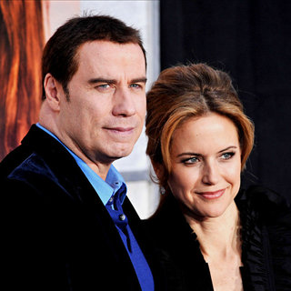 John Travolta, Kelly Preston in Premiere of 'The Last Song'