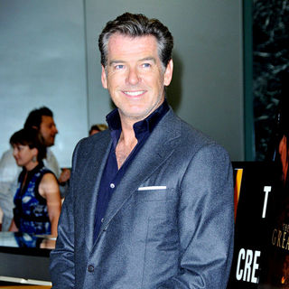 Pierce Brosnan in The Los AngelesPremiere of 'The Greatest'