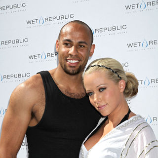 Hank Baskett, Kendra Wilkinson in Wet Republic at the MGM Grand Resort Casino