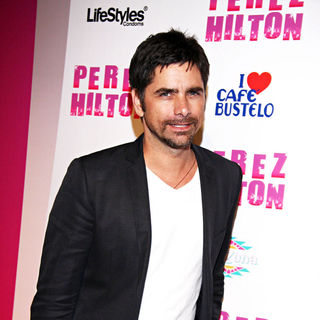 John Stamos in Perez Hilton's 'Carn-Evil' Theatrical Freak and Funk 32nd birthday party - Arrivals