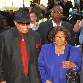 Joe Jackson, Katherine Jackson in Court for The Trail of Dr. Conrad Murray