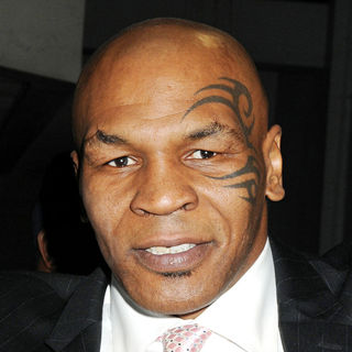 Mike Tyson in Mike Tyson Seen Out on The Upper West Side