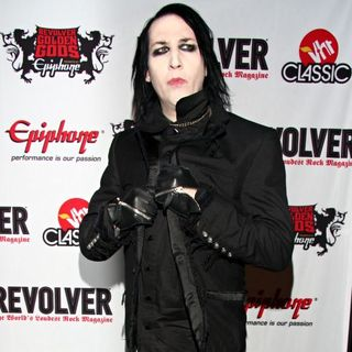 Marilyn Manson in Revolver Golden Gods Awards