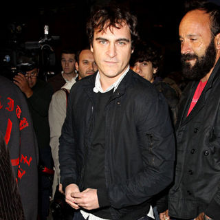 Joaquin Phoenix in Exit Through The Gift Shop - A Banksy Film USA Premiere