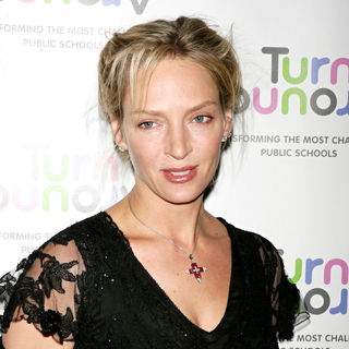 Uma Thurman in The 2010 Turnaround For Children Benefit Dinner