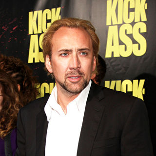 Nicolas Cage in The Los Angeles Premiere of 'Kick-Ass'