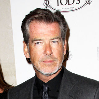 Pierce Brosnan in Tod's Boutique Grand Opening - Arrivals
