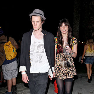 Matt Smith, Daisy Lowe in The Coachella Music Festival 2010 - Day 2