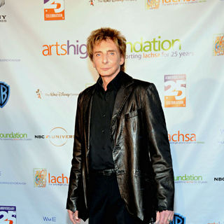Barry Manilow in Los Angeles County High School for The Arts 25th Anniversary Celebration