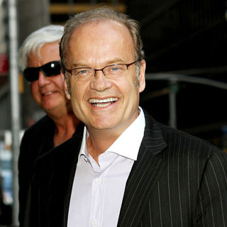 Kelsey Grammer in Kelsey Grammer Arriving Outside The Ed Sullivan Theater for The 'Late Show With David Letterman'