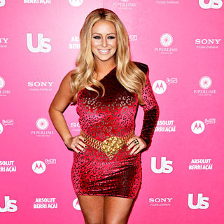 Aubrey O'Day in US Weekly Annual Hot Hollywood Style Issue Event