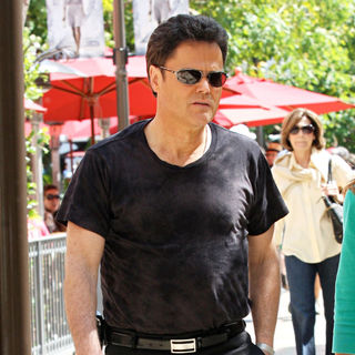 Donny Osmond in Donny Osmond Out Shopping at The Grove