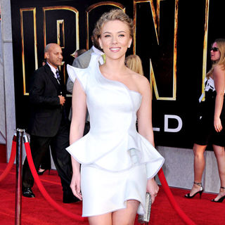 Scarlett Johansson in The 'Iron Man 2' World Premiere