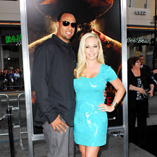 "Hank Baskett, Kendra Wilkinson in ""A Nightmare on Elm Street"" Los Angeles Premiere"