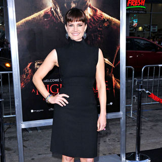 "Carla Gugino in ""A Nightmare on Elm Street"" Los Angeles Premiere"
