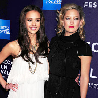 Jessica Alba, Kate Hudson in The Tribecca Film Festival 2010 Premiere of 'The Killer Inside Me'