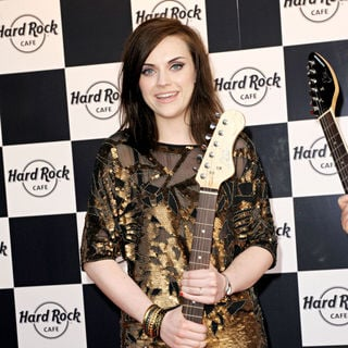 Amy Macdonald in The Grand Opening of Hard Rock Cafe Berlin