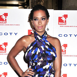 Solange Knowles in DKMS' 4th Annual Gala 'Linked Against Leukemia'