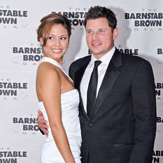 Vanessa Minnillo, Nick Lachey in The Barnstable Brown Gala