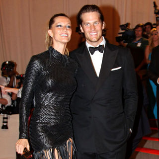 Gisele Bundchen, Tom Brady in The Costume Institute Gala Benefit