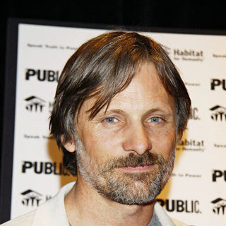 "Viggo Mortensen in The Photo Call for ""Speak Truth To Power: Voices Beyond The Dark"""
