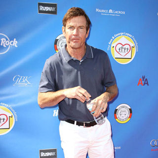 Dennis Quaid in Launch of The Ann and George Lopez Foundation at The 3rd Annual George Lopez Celebrity Golf Classic