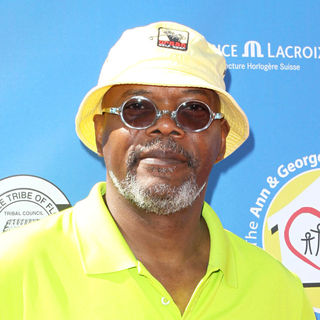 Samuel L. Jackson in Launch of the Ann and George Lopez Foundation at the 3rd Annual George Lopez Celebrity Golf Classic
