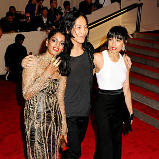 M.I.A., Alexander Wang, Zoe Kravitz in The Costume Institute Gala Benefit
