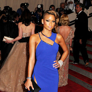 Cassie in The Costume Institute Gala Benefit