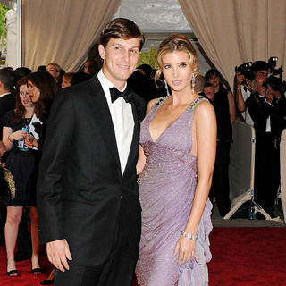 Jared Kushner, Ivanka Trump in The Costume Institute Gala Benefit