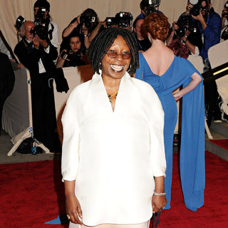Whoopi Goldberg in The Costume Institute Gala Benefit